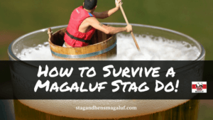 How to survive a magaluf stag do