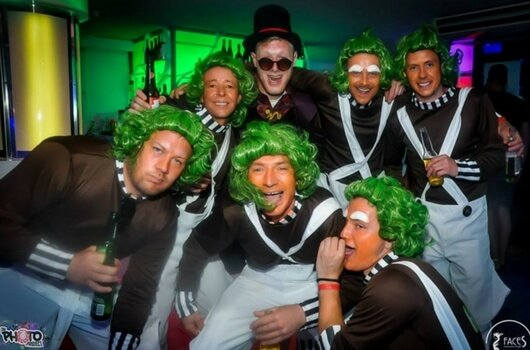oompa loompa stag do. Stag and Hens Magaluf