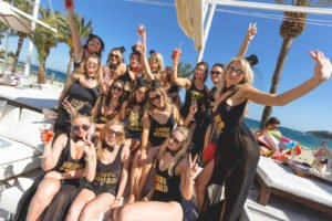 Hen Party at Oceans Beach Club Magaluf